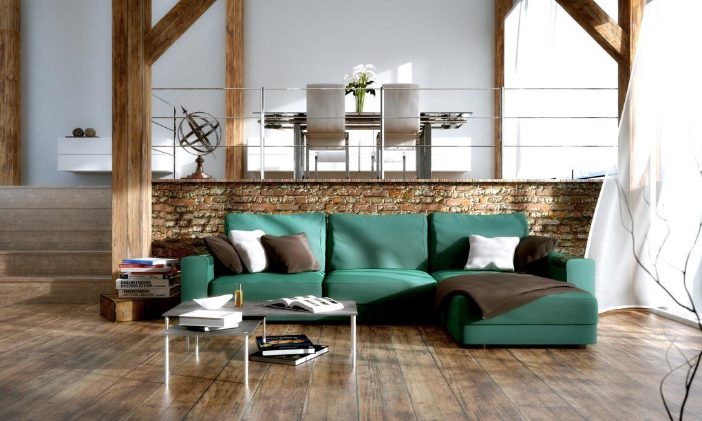 Inšpirácia obývačka