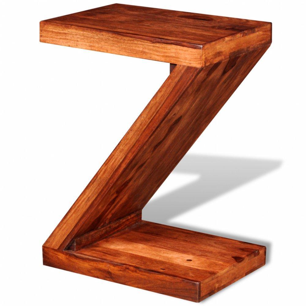 Nočný stolík v tvare písmena Z V1621 Dekorhome