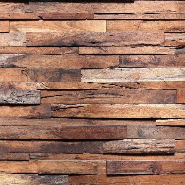 Dimex fototapety na stenu - Obklad z dreva 220 x 220 cm