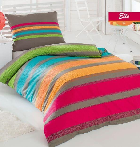 Bavlnené obliečky Elle oranžová DeLuxe. Zdroj fotiek: Gabonga.sk