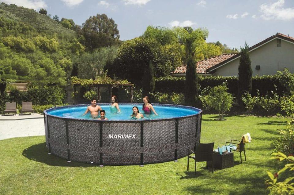 Marimex | Bazén Florida 3,66 x 1,22 m bez filtrácie - motív RATAN | 10340236