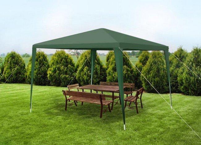 Malatec 7910 Zahradní párty stan 3x3 m, zelený