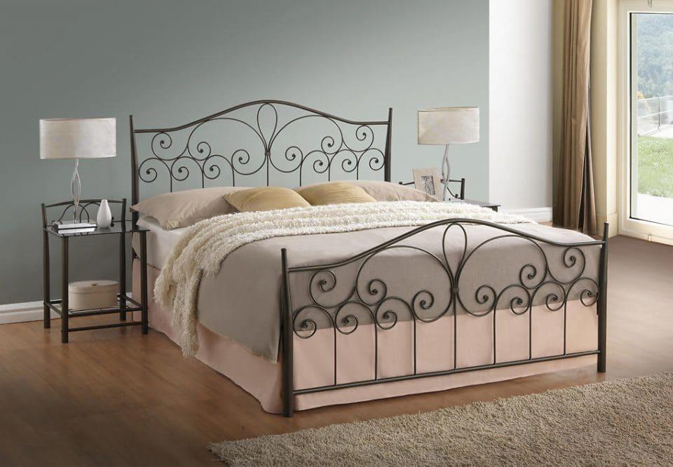 Kovová posteľ LILIE 180 VER-0370