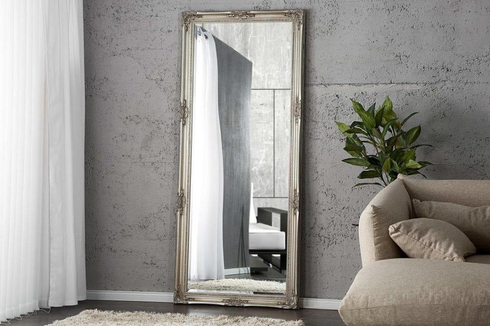 Zrkadlo Reincarnation strieborné 185cm