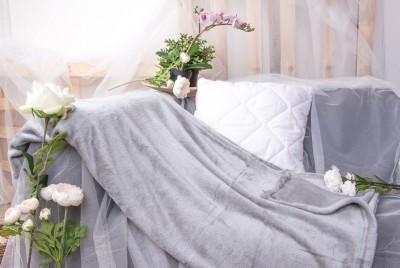 XPOSE ® Deka mikroplyš - světle šedá 150x200 cm
