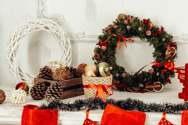 urob si sam vianocne dekoracie vianocne vence